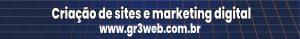 Banner de propaganda da agência de sites GR3 WEB