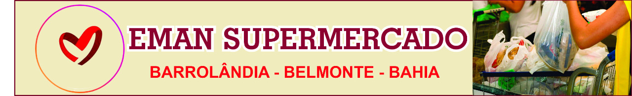 Banner Eman Supermercado Belmonte Bahia